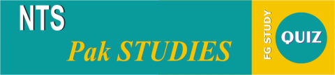 NTS Pakistan Study Online Test Image By FG STUDY