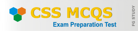 CSS Past Papers MCQS Online Test | FG STUDY