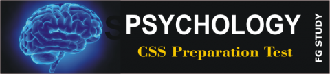 CSS Past Paper Psychology MCQS