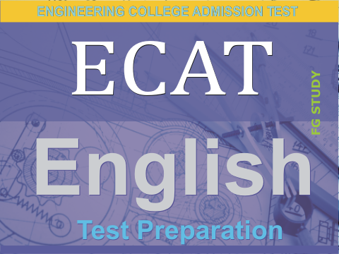 ECAT Entry Test English MCQS