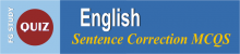 Grammar Correction Quiz Identify Correct Sentence Image By FG STUDY